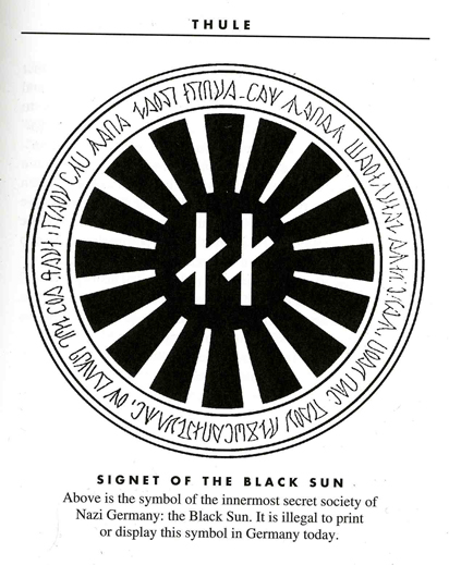 Black Sun Occult Symbol